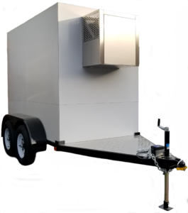 4'x8' Polar Tremp Small Refrigerated Trailer