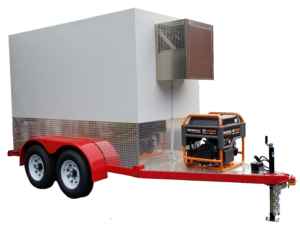 5'x10' Refrigerated Trailer