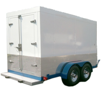 7x10 Refrigerated Trailer