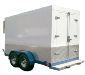 7'x12' Polar Tremp Small Refrigerated Trailer