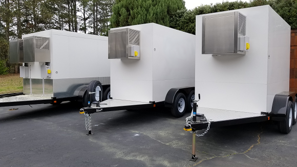 Refrigerated Pull Behind Trailers