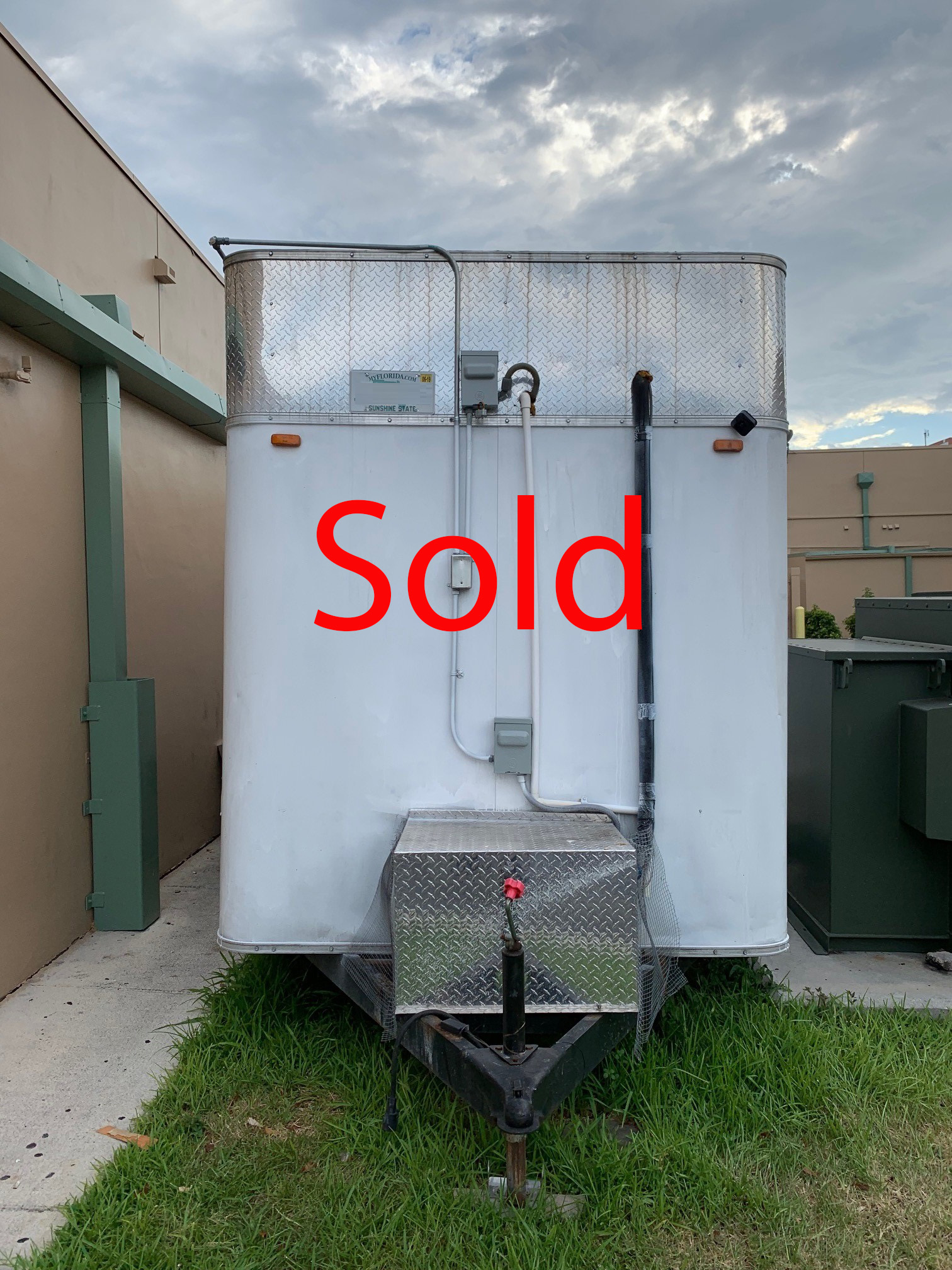 Used Small Refrigerated Trailer for Sale