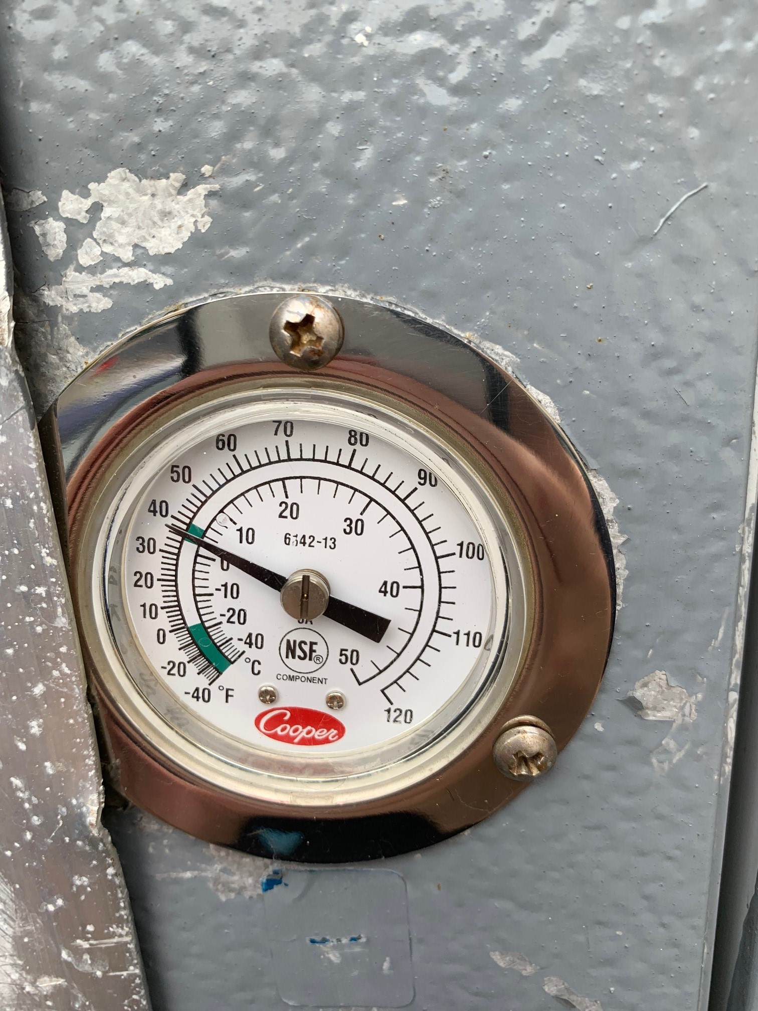 Used Small Refrigerated Trailer for Sale Thermostat
