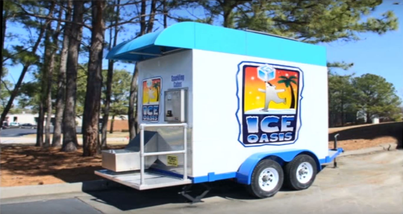 Mobile Ice Vending Machine
